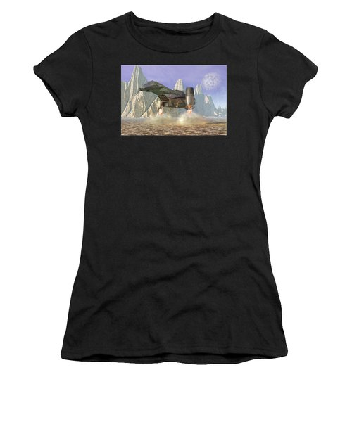Spaceship Women's T-Shirt