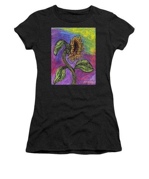 Spanish Sunflower Women's T-Shirt (Athletic Fit)