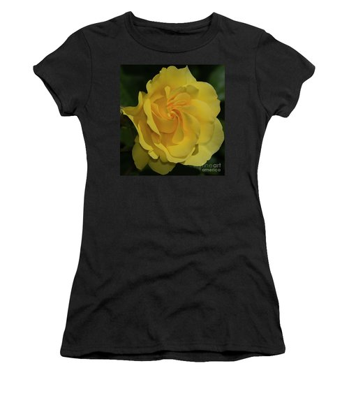 Sparkle And Shine Rose Women's T-Shirt (Athletic Fit)