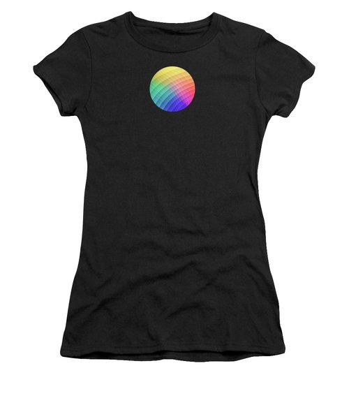 Spectrum Bomb Fruity Fresh Hdr Rainbow Colorful Experimental Pattern Women's T-Shirt