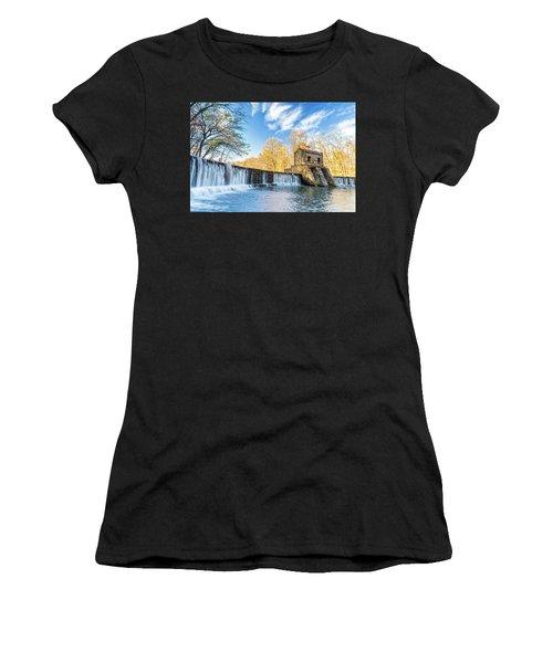 Speedwell Dam Waterfall Women's T-Shirt