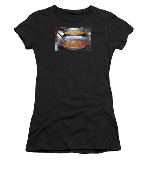 Spicy Duck Blood Soup Women's T-Shirt