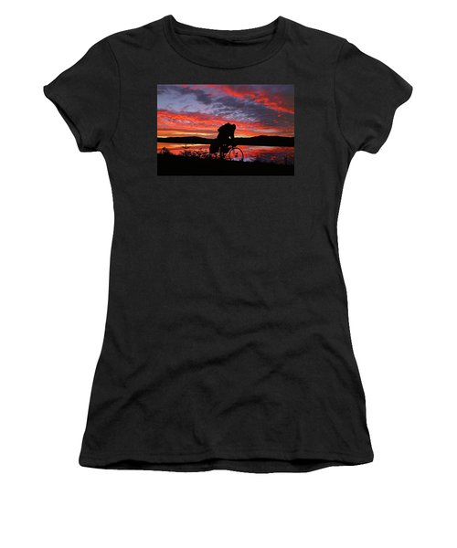 Spinning The Wheels Of Fortune Women's T-Shirt