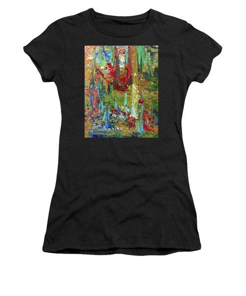 Spirit Dance Women's T-Shirt (Athletic Fit)