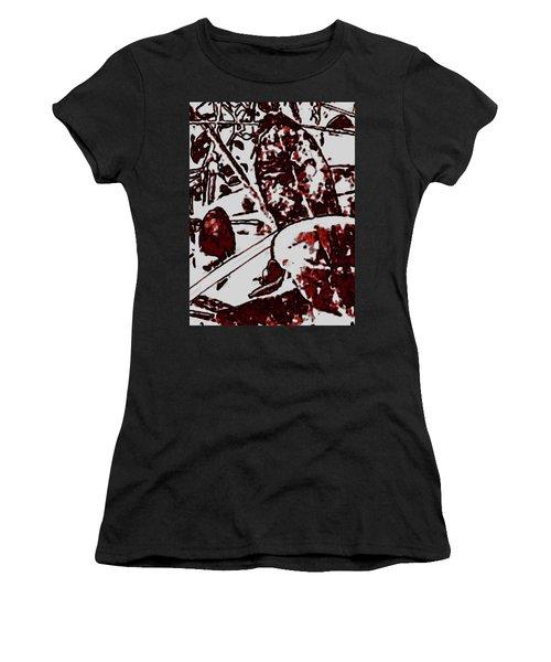Spirit Of Leaves Women's T-Shirt (Junior Cut) by Gina O'Brien