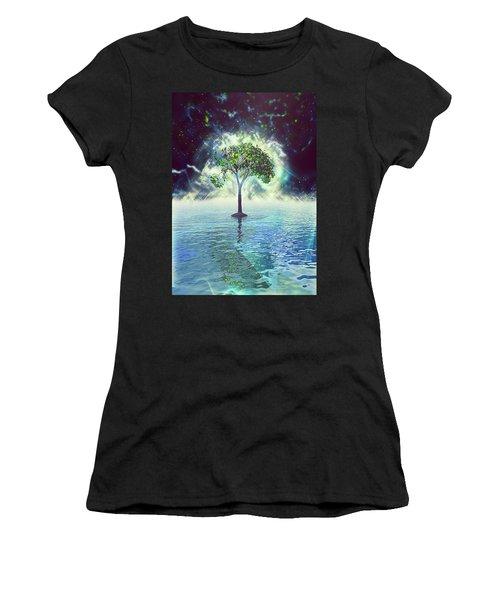 Spirit Tree Women's T-Shirt (Athletic Fit)