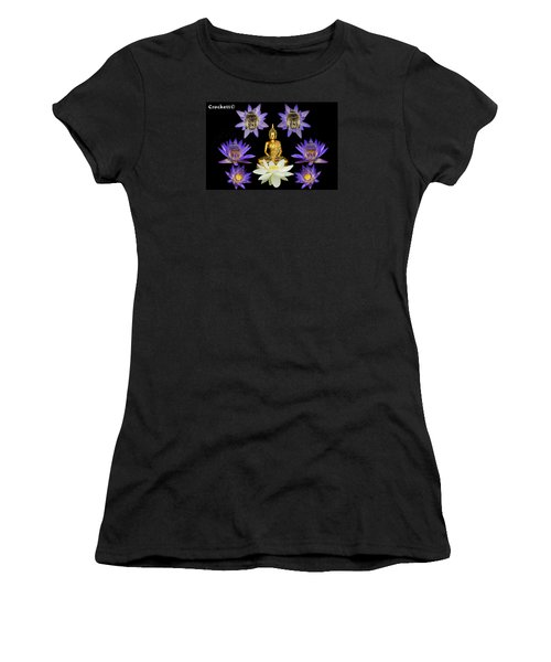 Spiritual Water Lilly Women's T-Shirt (Athletic Fit)
