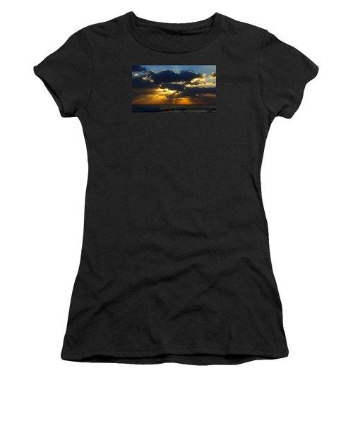 Spiritually Uplifting Sunrise Women's T-Shirt (Athletic Fit)