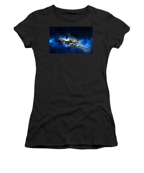 Hawker Typhoon Women's T-Shirt (Athletic Fit)