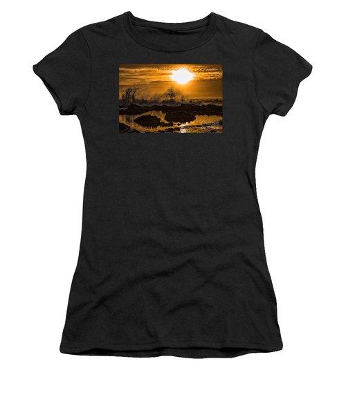 Splash Women's T-Shirt (Junior Cut) by Billie-Jo Miller