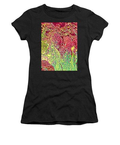 Splash Of Red - Heart Of Pele Women's T-Shirt