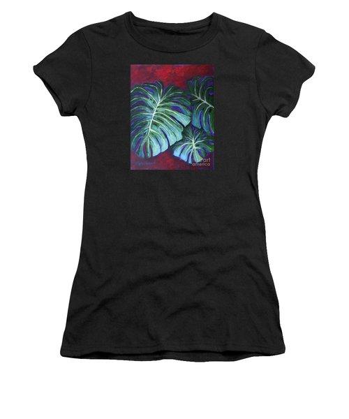 Split Leaf Philodendron Women's T-Shirt