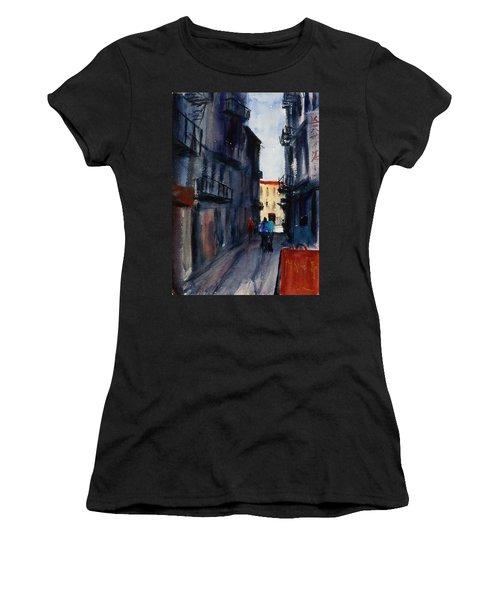spofford Street5 Women's T-Shirt (Junior Cut) by Tom Simmons