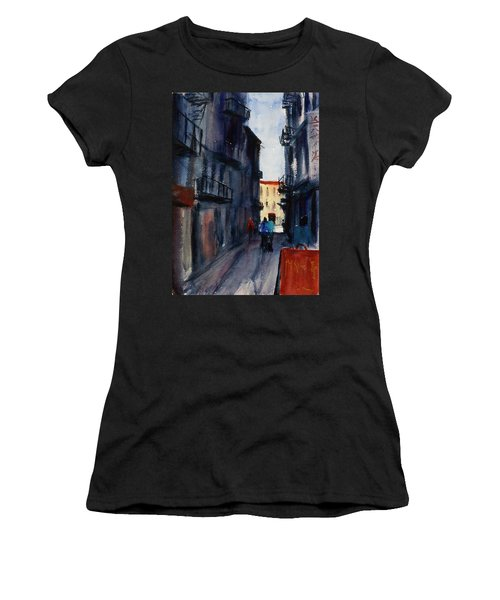 spofford Street5 Women's T-Shirt (Athletic Fit)