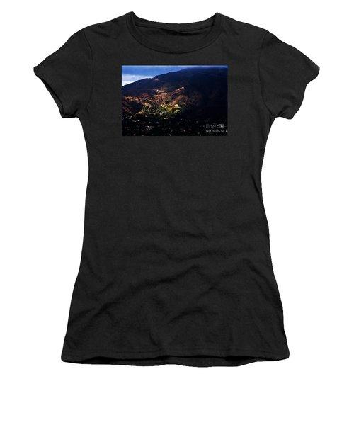 Spotlight From The Heavens Women's T-Shirt