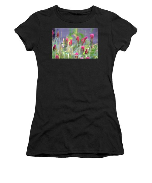 Spring Clover Women's T-Shirt (Athletic Fit)