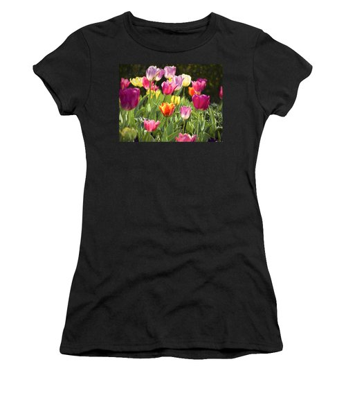 Spring Colors Women's T-Shirt (Athletic Fit)