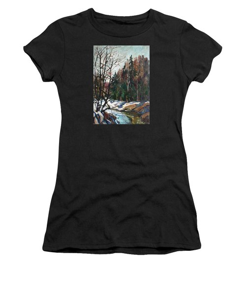 Spring Creek Women's T-Shirt (Athletic Fit)