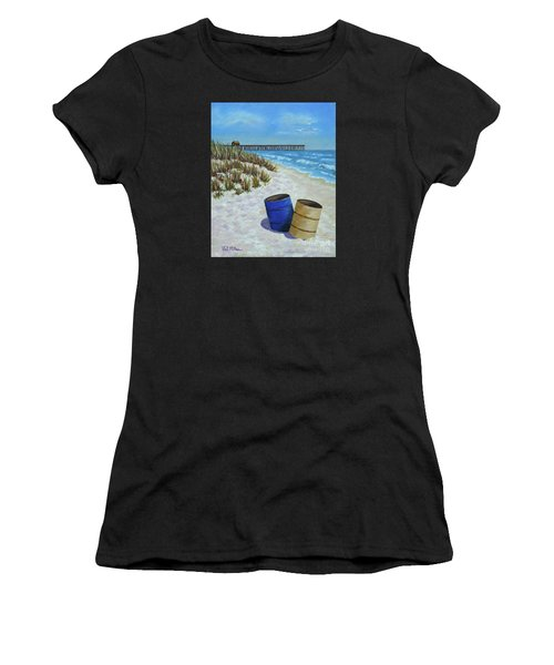 Spring Day On The Beach Women's T-Shirt (Athletic Fit)