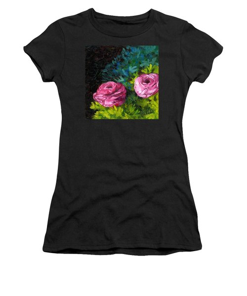 Spring Dewdrops Women's T-Shirt (Athletic Fit)
