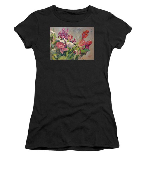 Spring Flowers Bouquet Women's T-Shirt