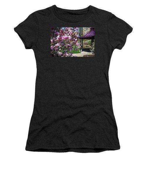 Spring Garden Women's T-Shirt (Athletic Fit)