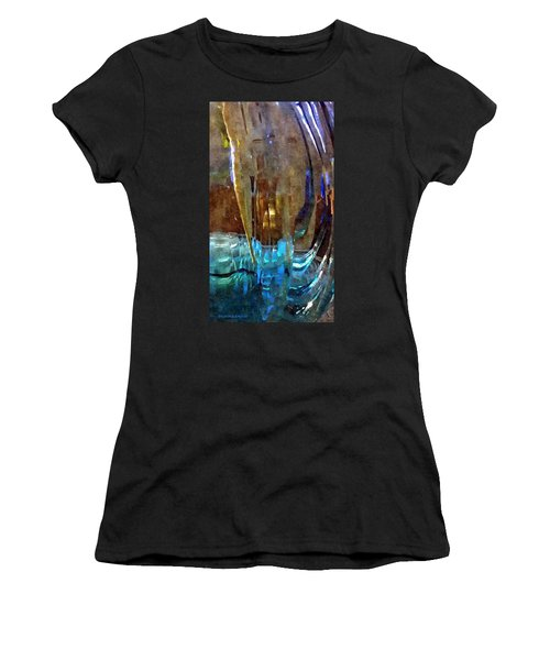 Spring Globe Women's T-Shirt (Athletic Fit)