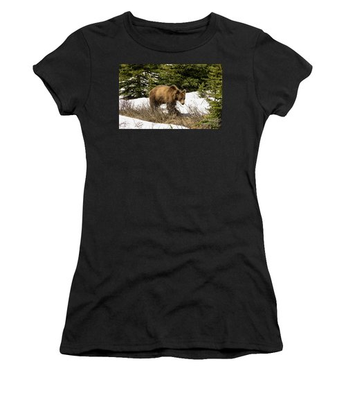 Spring Grizzly Women's T-Shirt (Athletic Fit)
