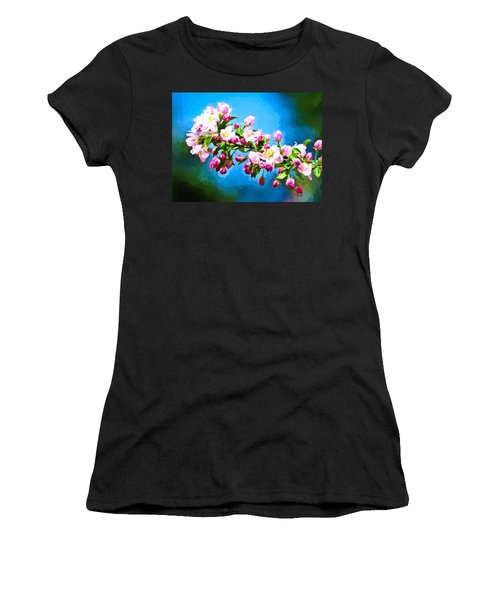 Women's T-Shirt featuring the photograph Spring Impressions by Greg Norrell
