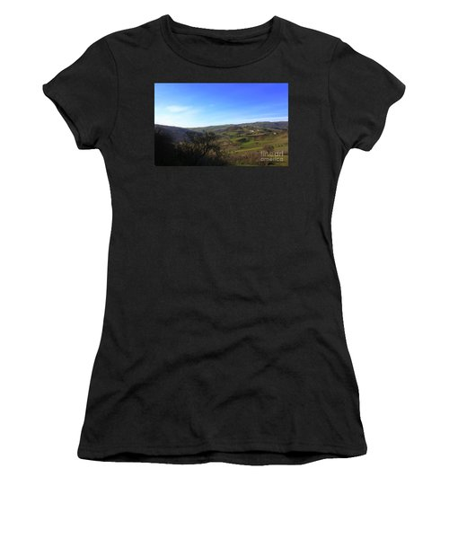 Spring In Casacalenda Women's T-Shirt (Athletic Fit)