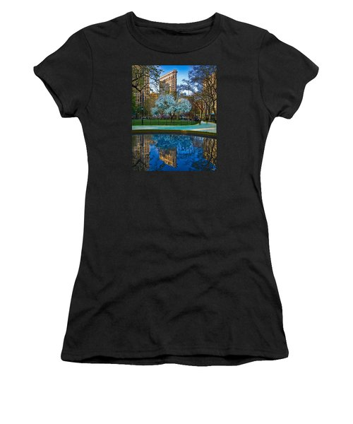 Spring In Madison Square Park Women's T-Shirt (Athletic Fit)