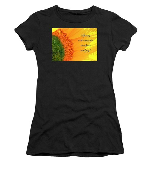 Spring Is The Time Women's T-Shirt