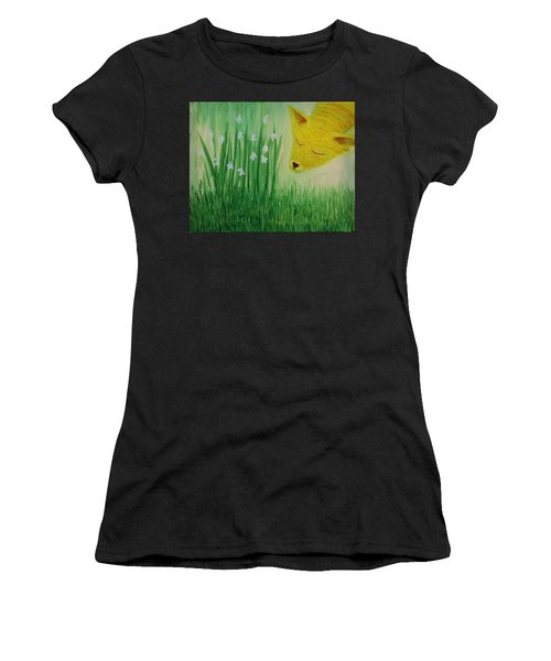 Spring Morning Women's T-Shirt (Athletic Fit)