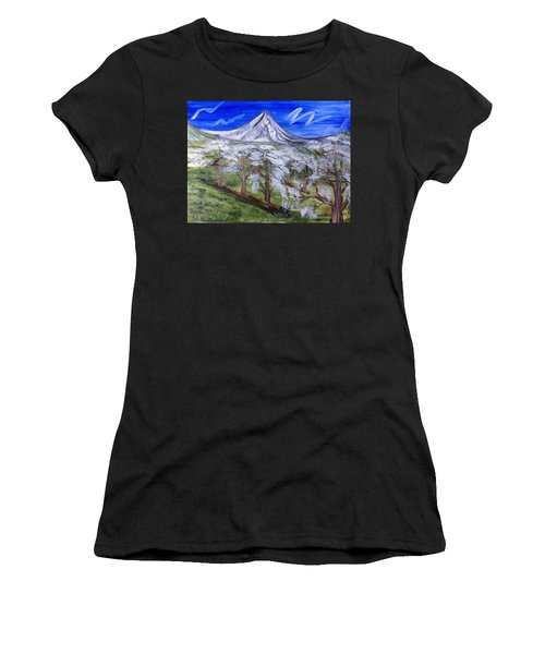 Spring On The Hood Women's T-Shirt (Athletic Fit)