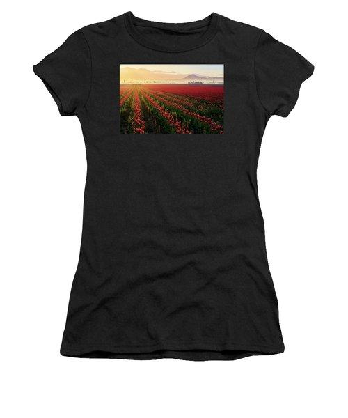 Spring Palette Women's T-Shirt (Athletic Fit)