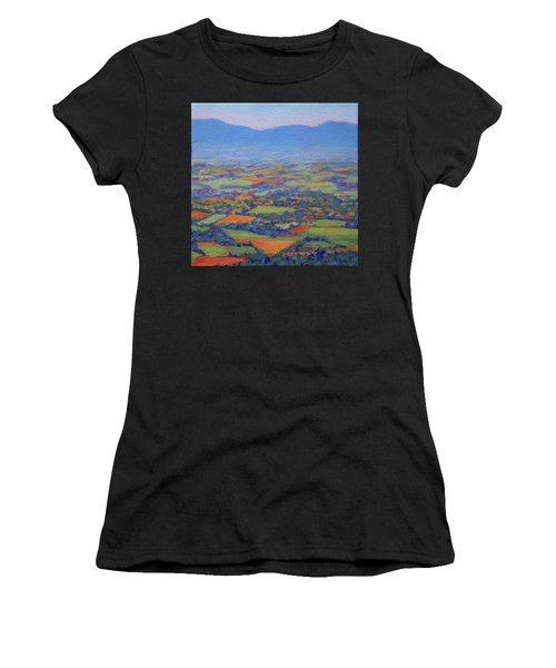 Spring Patchwork 2 Women's T-Shirt (Athletic Fit)