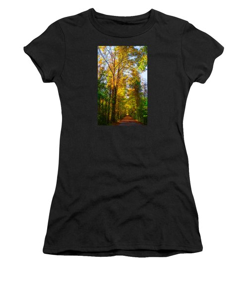 Spring Path Women's T-Shirt (Athletic Fit)