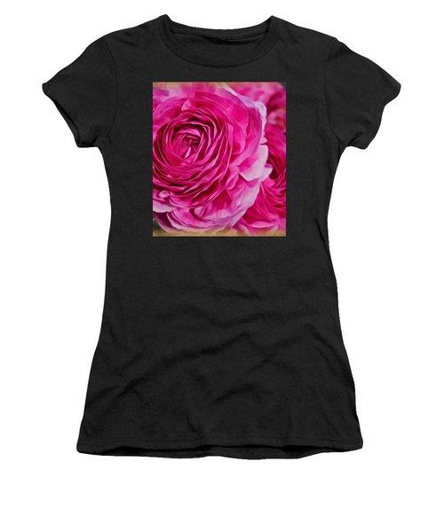 Spring Pink Roses Women's T-Shirt