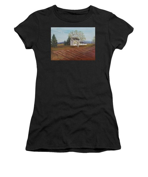Spring Plowing Women's T-Shirt (Athletic Fit)