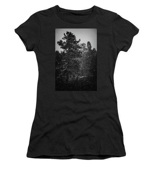 Spring Snowstorm Women's T-Shirt