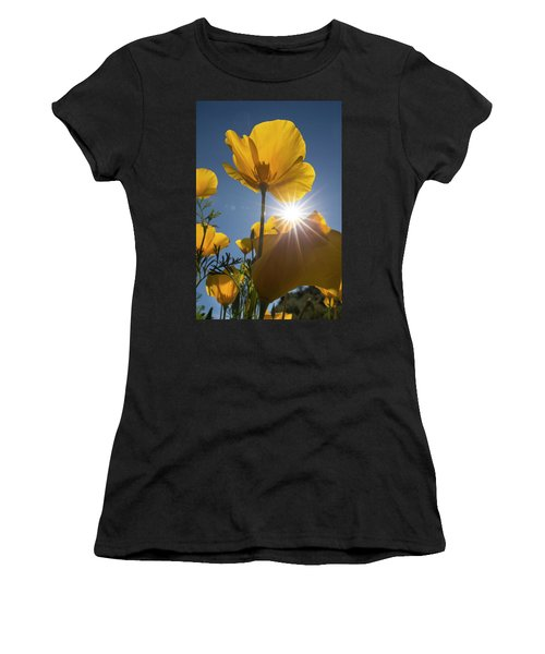 Spring Starburst Women's T-Shirt (Athletic Fit)