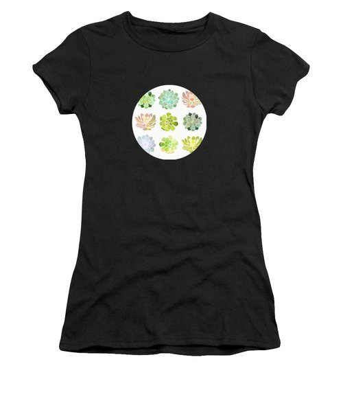 Spring Succulents Women's T-Shirt