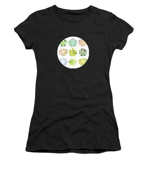 Spring Succulents Women's T-Shirt