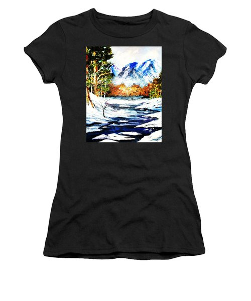 Spring Thaw Women's T-Shirt (Junior Cut) by Al Brown