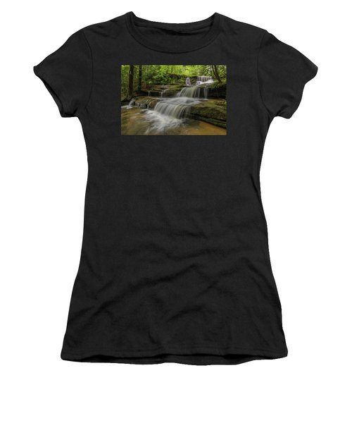 Spring Waterfall. Women's T-Shirt (Junior Cut)