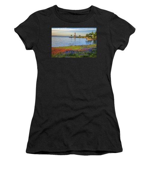 Spring Wildflowers Of Lake Buchanan Women's T-Shirt