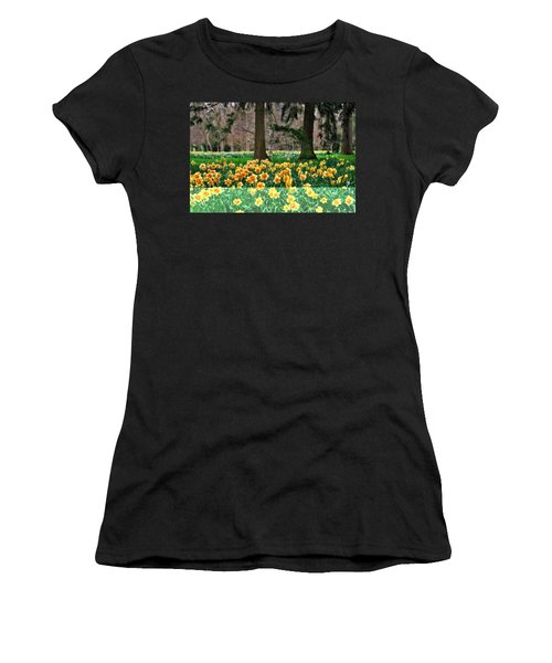 Spring Woodland Daffodils Women's T-Shirt