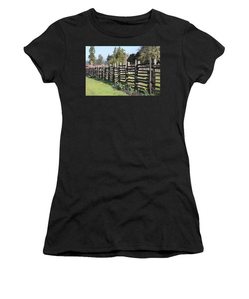 Springtime In Anderson Valley Women's T-Shirt (Athletic Fit)