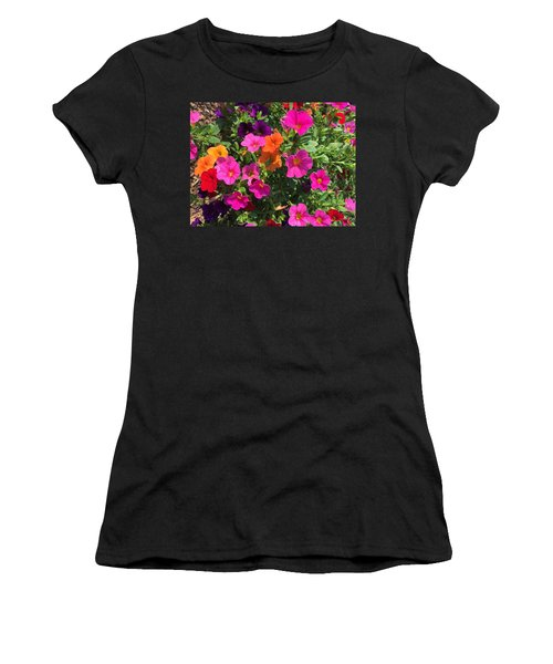 Springtime On The Farm Women's T-Shirt (Athletic Fit)