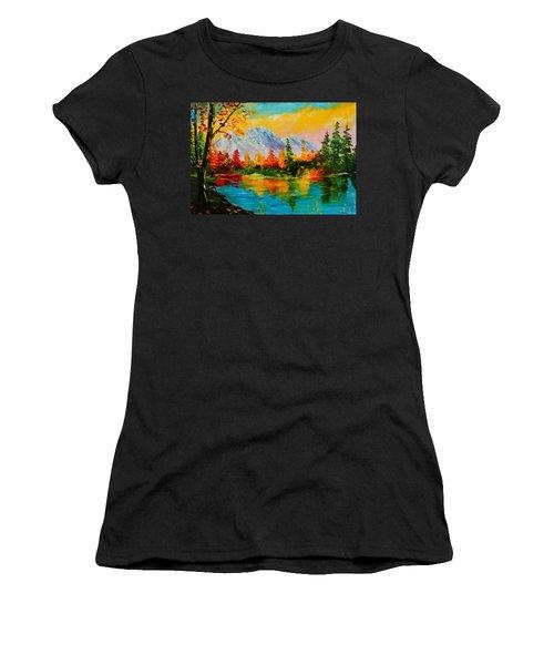 Springtime Reflections Women's T-Shirt